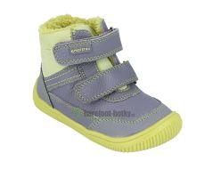 Barefoot Protetika zimní barefoot boty Tyrel green bosá