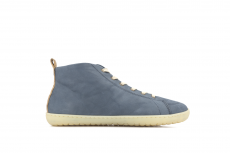 Barefoot boty MUKISHOES High-cut RAW LAETHER Blue FW