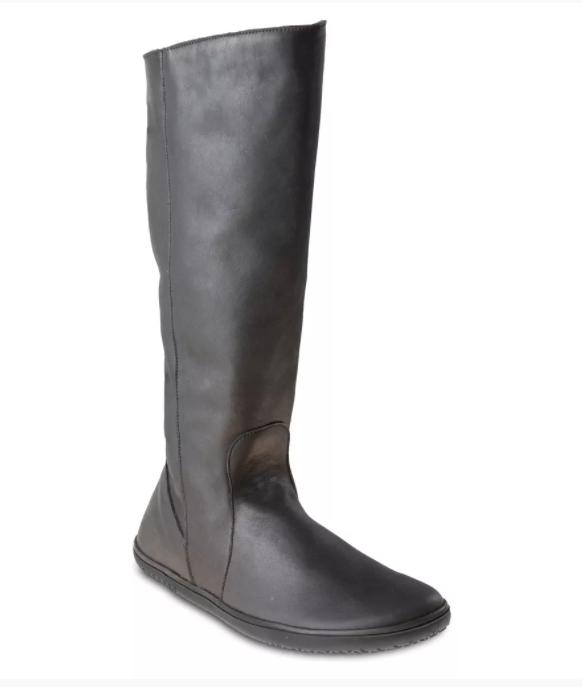 Barefoot Barefoot kozačky Angles KAIROS EV WINTER Black Angles Fashion bosá