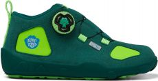 Dětské barefoot botičky Affenzahn Minimal Trail Explorer Vegan Frog - Green