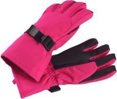 Dětské membránové rukavice Reima Tartu - Raspberry Pink