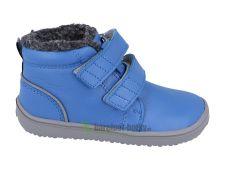 Childrens winter barefoot boots Be Lenka Penguin - Blue
