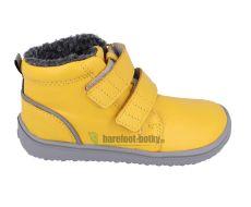 Children's winter barefoot boots Be Lenka Penguin - Yellow