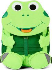 Children's backpack for kindergarten Affenzahn Large Friend Frog - neon green