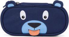 Children's pencil case Affenzahn Pencil Case Bobo Bear - petrol