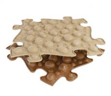 Ortopedická podlaha MUFFIK puzzle Ořechy