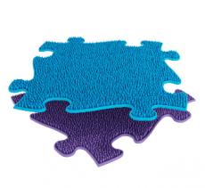 Barefoot Ortopedická podlaha MUFFIK puzzle Tráva měkká bosá