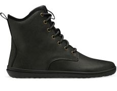Vivobarefoot SCOTT II LEATHER MENS OBSIDIAN