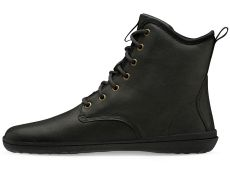 Barefoot Vivobarefoot SCOTT II LEATHER MENS OBSIDIAN bosá