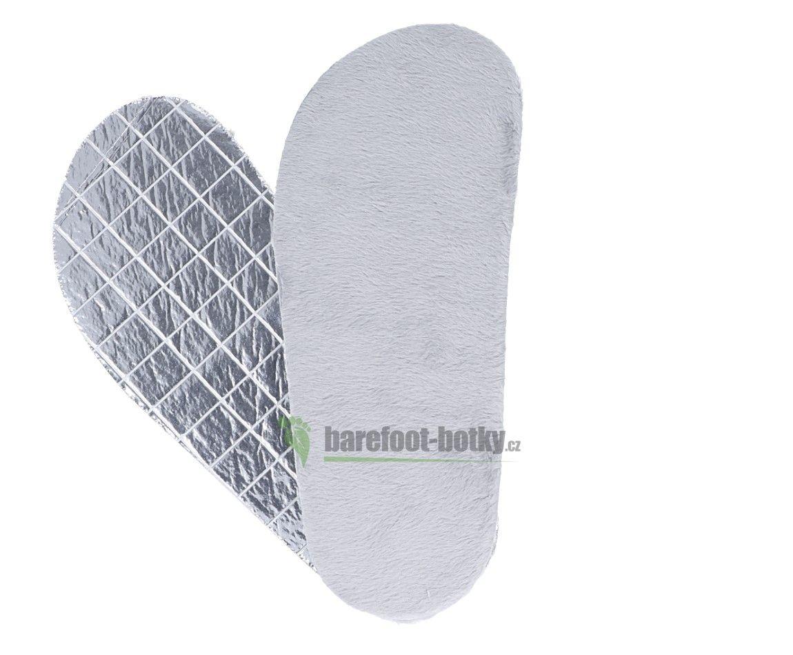 Barefoot Zimní barefoot vložky mikroplyš/ ALU bosá