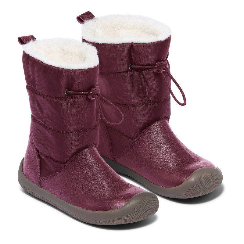 Barefoot Zimní boty Bundgaard Walker PULL TEX Plum bosá