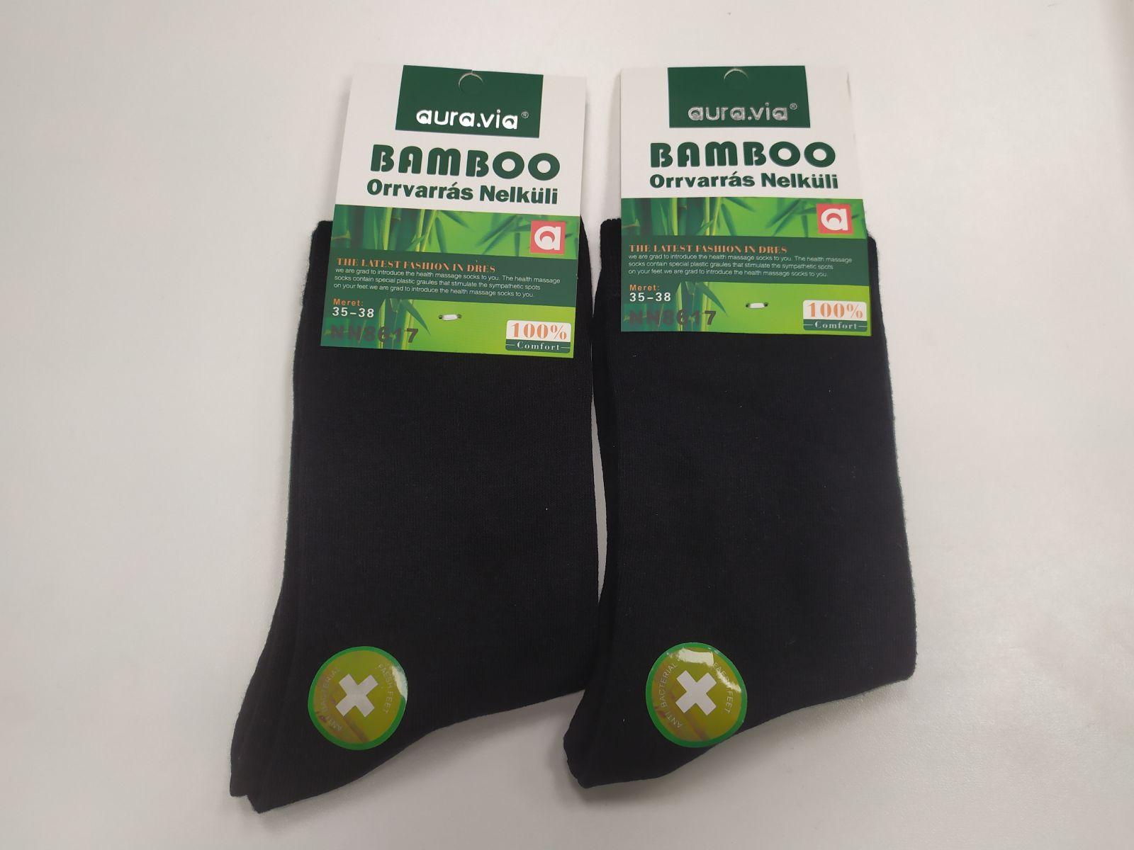 Barefoot Bambusové ponožky AURA VIA - dámské bosá