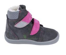 Beda Barefoot - Isabel - zimní boty s membránou model 2020