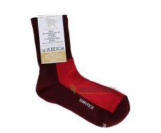 Dětské Surtex merino sportovní ponožky froté - červené