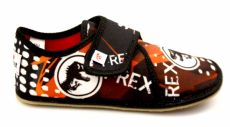 Ef barefoot slippers 394 TREX black - closed