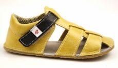Ef barefoot sandálky - žluté