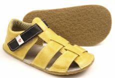 Barefoot Ef barefoot sandálky - žluté bosá