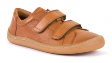 Froddo barefoot year-round shoes brown - 2 velcro | 35, 37