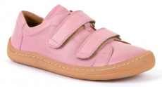 Froddo barefoot year-round shoes pink - 2 velcro | 31, 32, 35