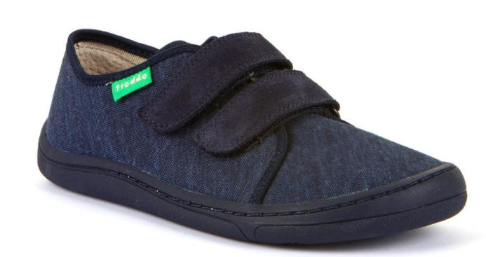 Barefoot Froddo barefoot tenisky dark blue - tmavá podrážka bosá