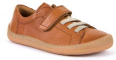Froddo year-round barefoot shoes brown - 1 velcro