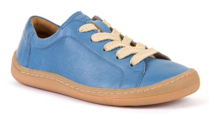 Barefoot Froddo celoroční barefoot boty jeans - tkaničky bosá