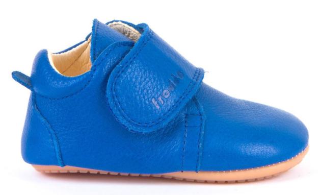 Barefoot Froddo prewalkers blue electric bosá