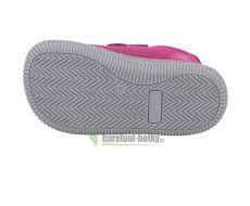 Barefoot Protetika Dony fuxia - textilní tenisky bosá