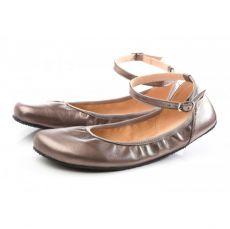 SHAPEN Barefoot balerínky TULIP II Bronze