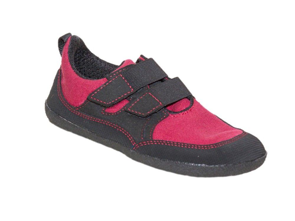 Barefoot Sole runner Puck červená bosá