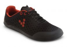 Vivobarefoot STEALTH L BR Black/Red