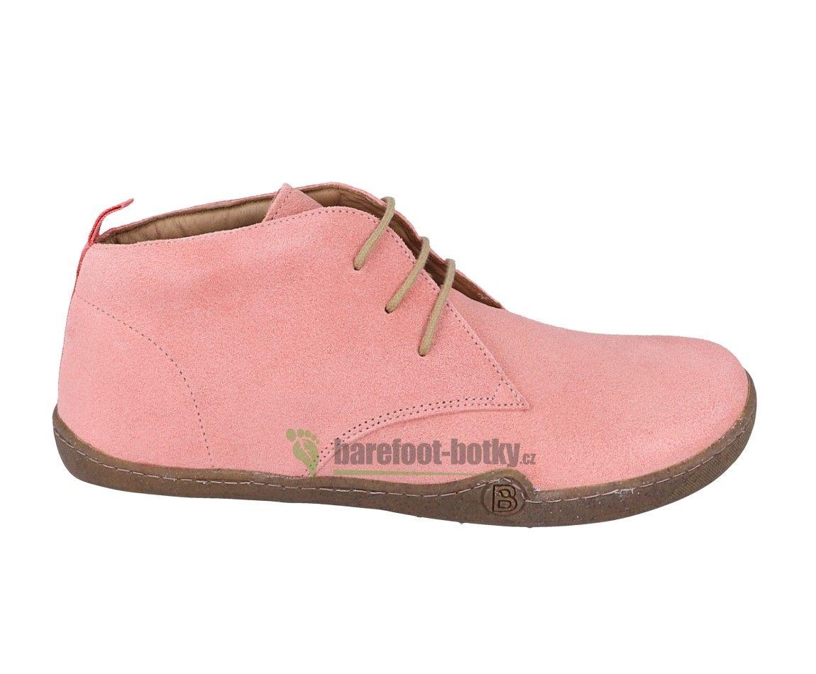 Barefoot Barefoot kotníkové boty bLIFESTYLE - classicSTYLE Bio rose bosá
