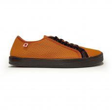 Barefoot sneakers Anatomic orange with black sole - mesh | 38, 39, 40, 41, 42, 43, 45