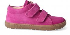 Barefoot sneakers KOEL4kids - Bernardo velours fuchsia | 28