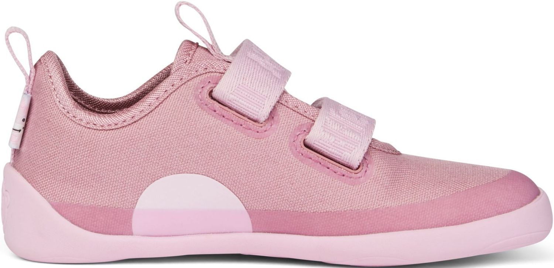 Barefoot Dětské barefoot botičky Affenzahn Lowcut Cotton Unicorn-Pink bosá