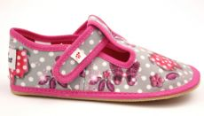 Ef barefoot slippers 395 Butterfly gray