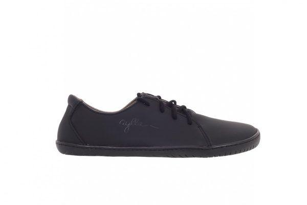 Barefoot Kožené boty AYLLA INCA černé M - širší, unisex bosá