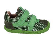 Lurchi barefoot sneakers - NEVIO NAPPA VERDE
