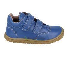 Lurchi year-round barefoot shoes - Nora nappa cobalto
