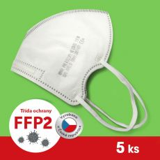 Respirátor / Filtrační polomaska FFP2 - ROYAX 5 ks