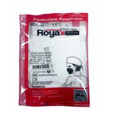 Barefoot Respirátor / Filtrační polomaska FFP2 - ROYAX 5 ks bosá