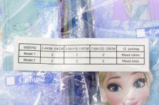 Barefoot Dívčí licenční pláštěnka FROZEN fialová bosá