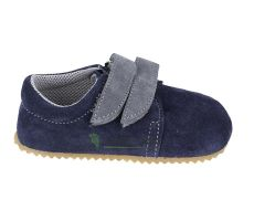 Beda barefoot - LEATHER SLIPPERS Lucas - 2 velcros | 20