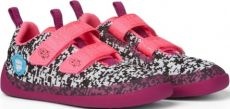 Children's barefoot shoes Affenzahn Lowcut Knit Flamingo-Black / White / Pink | 27, 29, 30, 31, 32