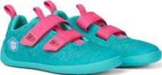 Children's barefoot shoes Affenzahn Lowcut Knit Owl-Green | 27