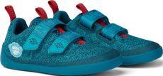 Children's barefoot shoes Affenzahn Lowcut Knit Shark-Blue | 27, 28, 30