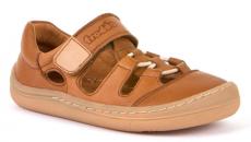 Froddo barefoot sandálky Brown - 1 suchý zip