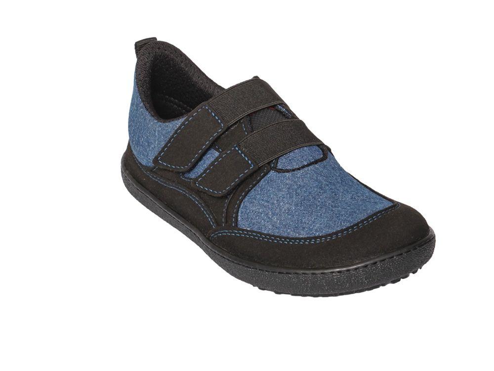 Barefoot Tenisky Sole runner Puck 2 modrá bosá