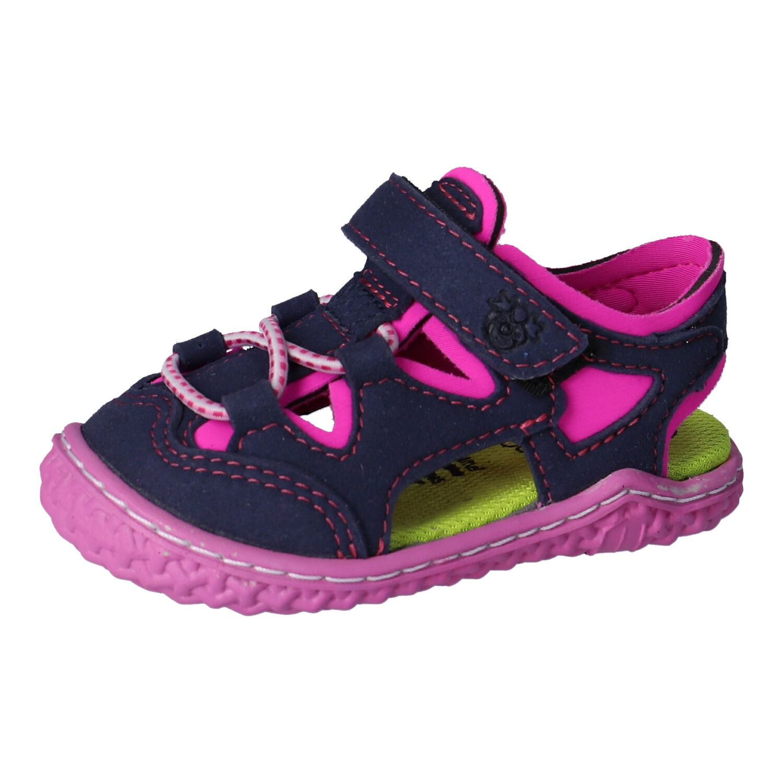 Barefoot Barefoot sandálky RICOSTA Kenny ozean/neonpink bosá