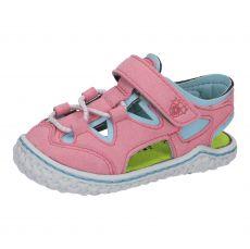 Barefoot sandals RICOSTA Kenny rosato / turquise | 20, 21, 22, 23, 24, 26